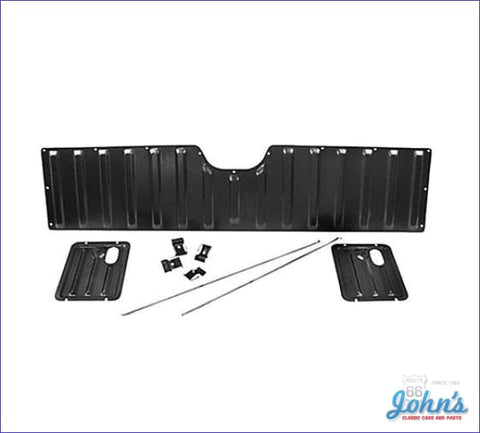 Tailgate Inner Panel Kit 9 Piece With Lock Rods & Clips. (Os1) A