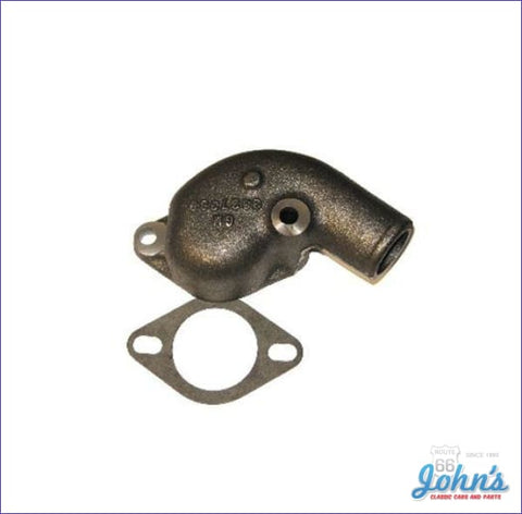 Thermostat Housing L79 Cast Iron Cast# 3827369 Gm Licensed Reproduction A X