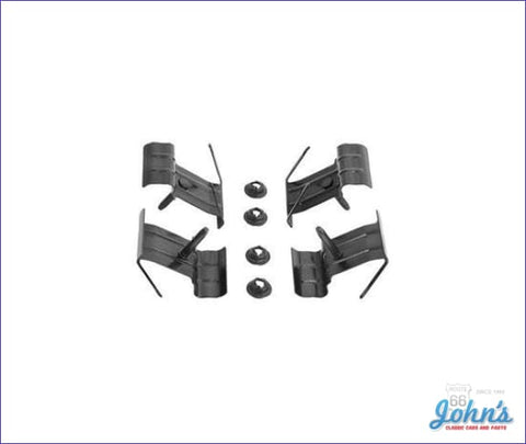 Top Of Tailgate Molding Clips 4 Piece Set. A