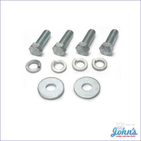 Transmission Mount Mounting Hardware Kit 10Pc. Correct Style. A F2 X F1