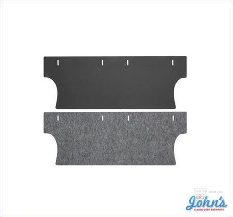 Trunk Divider Board And Insulation Kit. (Os3) A