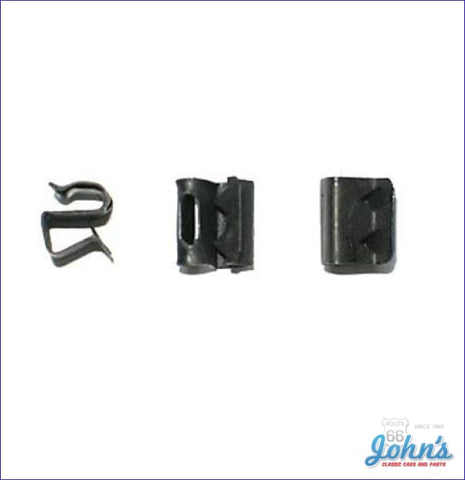 Trunk Lamp Wire S Clip Kit 3Pc. A F2 X F1
