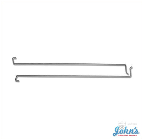 Trunk Lid Torsion Bars For Coupe- Pair A