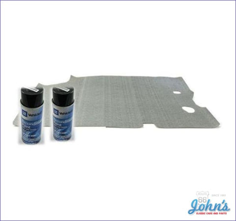 Trunk Mat And Gm Spatter Paint Kit. A