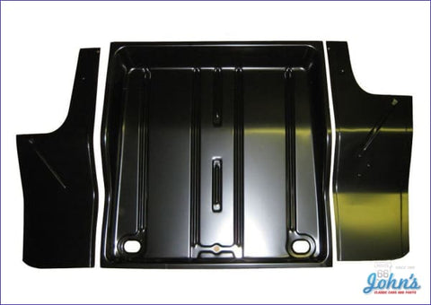 Trunk Pan Kit 3 Piece Set - Includes Side Extensions. (Truck) X