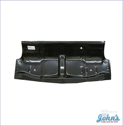 Under Rear Seat Floor Pan- One Piece (Truck) A