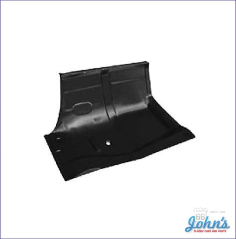 Under Rear Seat Floor Pan- Rh (Os1) A