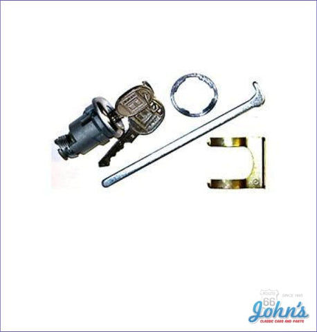 Universal Trunk Lock Kit With Late Style Keys A X