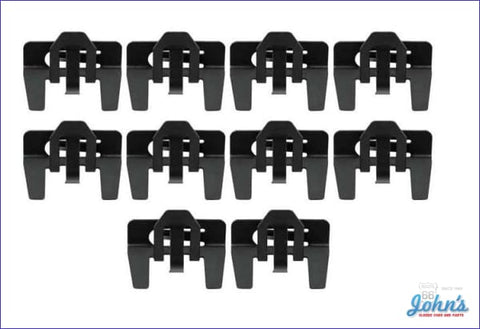 Upper Side Reveal Molding Clip Kit 10 Piece Set X