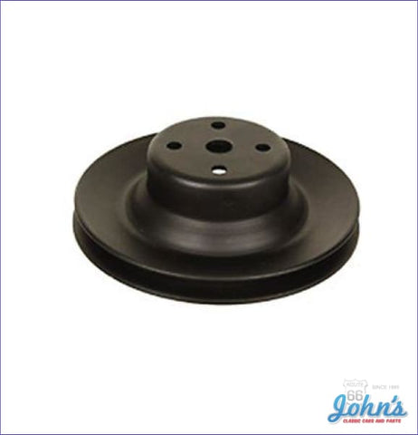 Water Pump Pulley Z28 1 Groove Deep Without Factory Ac With Long Wp. F2 F1