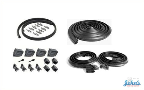 Weatherstrip Kit 2Dr Sedan. Without Windowfelts. X
