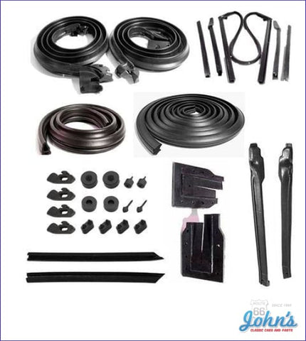 Weatherstrip Kit Basic Kit For Convertible A