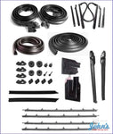 Weatherstrip Kit Convertible W/4Pc Outer Oe Windowfelts. A