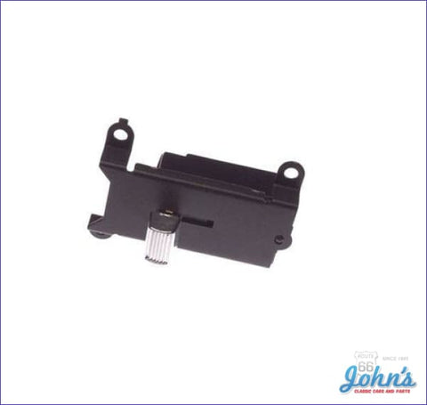 Wiper Switch With Recess Park A