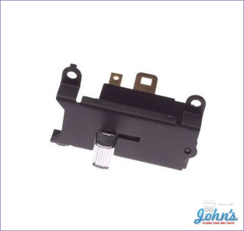 Wiper Switch Without Recess Park A