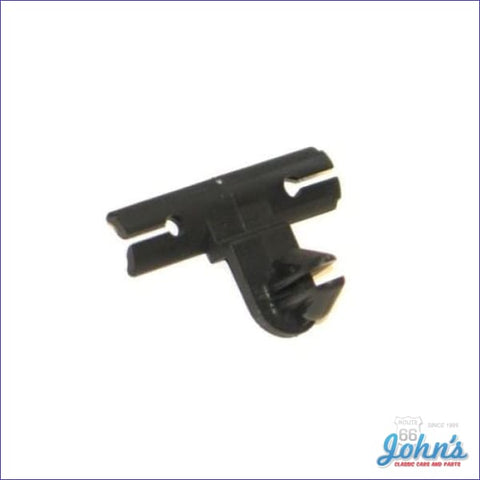 Wire Harness Retainer Black Offset Design- Each A F2 X F1