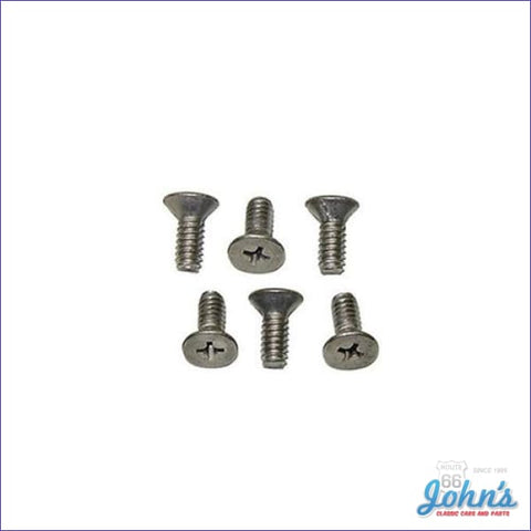 Wood Or Sport Cushion Grip Steering Wheel To Hub Screw Kit- 6Pc A X F2 F1