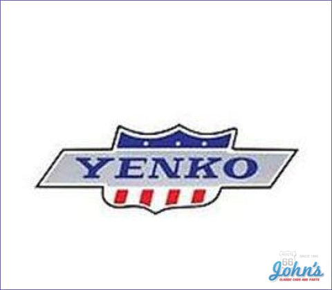 Yenko Body Decal. Each A F1 F2 X