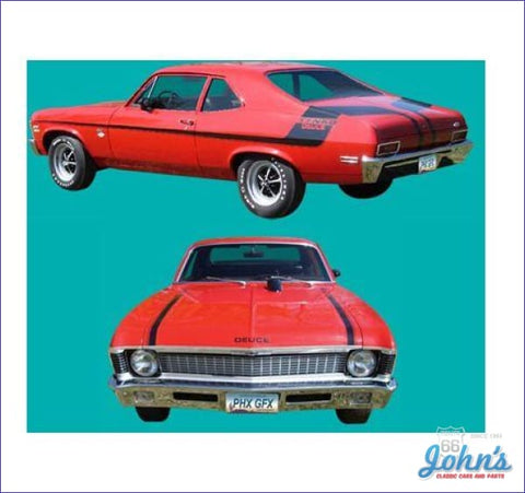 Yenko Body Stripe Kit Gm Licensed Reproduction X