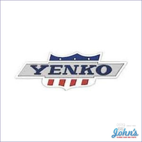Yenko Tail Pan / Rear Panel Emblem X A F1