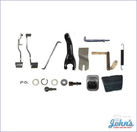Z-Bar Kit With Clutch And Brake Pedal Assembly For Bb A