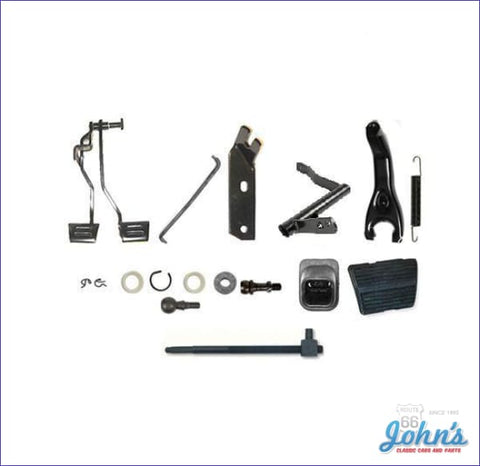 Z-Bar Kit With Clutch And Brake Pedal Assembly For Sb Or Bb A