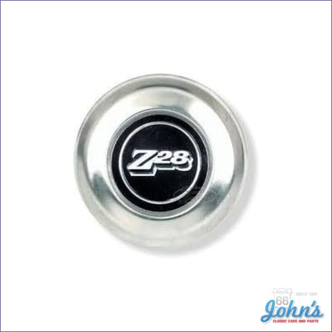 Z28 Wheel Center Cap (With Insert) - Each. Gm Licensed Reproduction. Part # 469688 **on Sale** F2