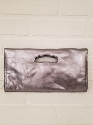 Hobo International Leather Clutch