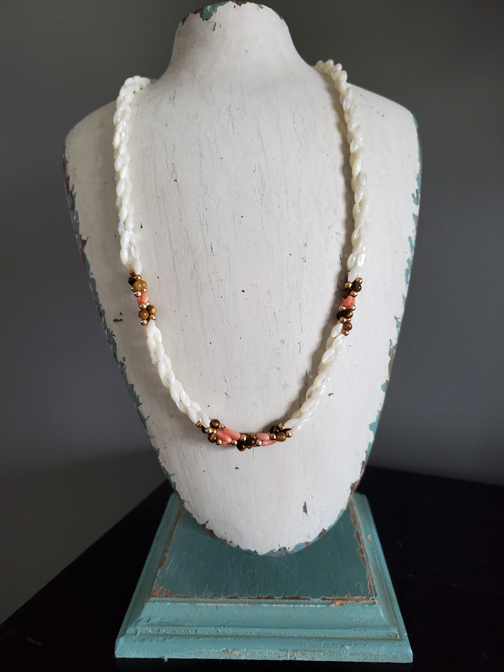 Vintage Freshwater Pearl Bead Necklace