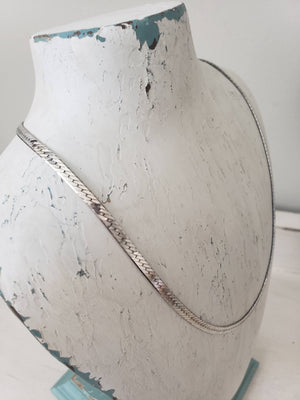 Sterling Silver Herringbone Chain