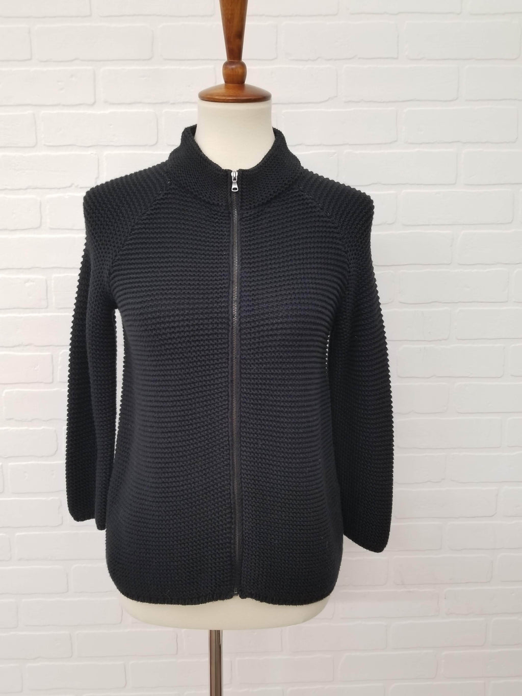 Talbots Zip Up Sweater XS