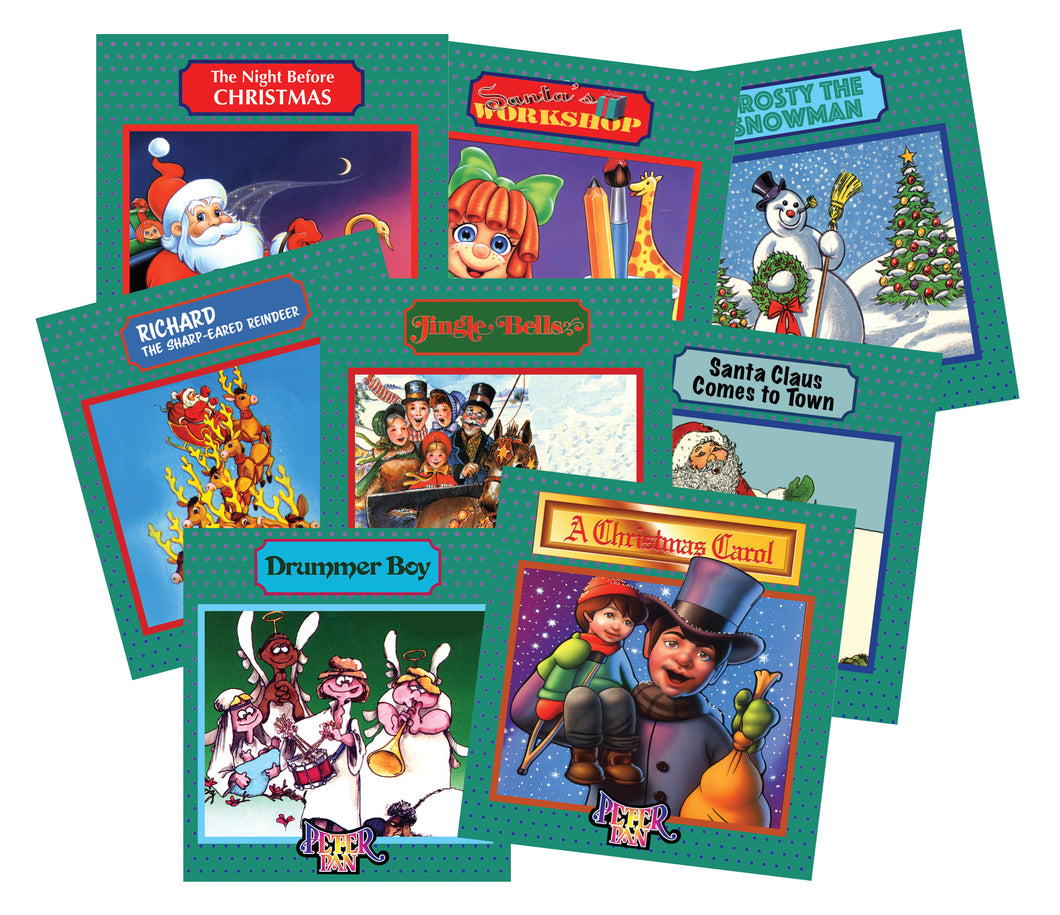8 All-Time Favorite Christmas Books from Peter Pan PLUS Audio Read-Along