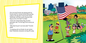 Proud Americans—A Book About Honoring the Flag