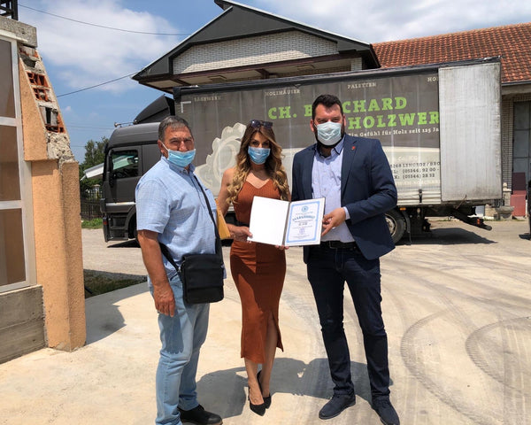 Covid-19 Donation Concludes 8-year Humanitarian Project