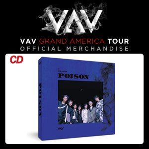 VAV Official Merch - Poison Album