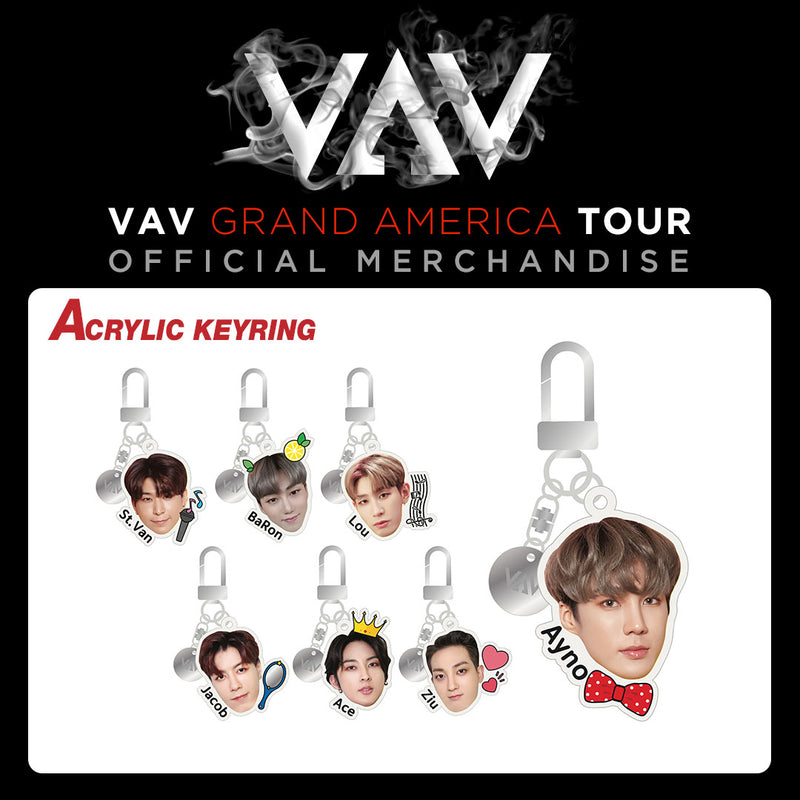 VAV Official Merch - Acrylic Keyring