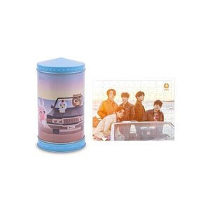 [PRE-ORDER] DENIMALZ TIN CASE MUSIC BOX + Mini Puzzle (90pcs) - DAY6 OFFICIAL MERCHANDISE