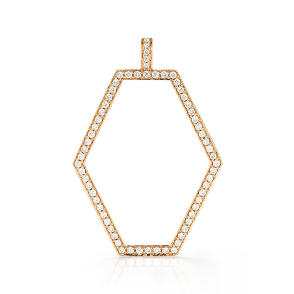 Open Hexagon Pendant