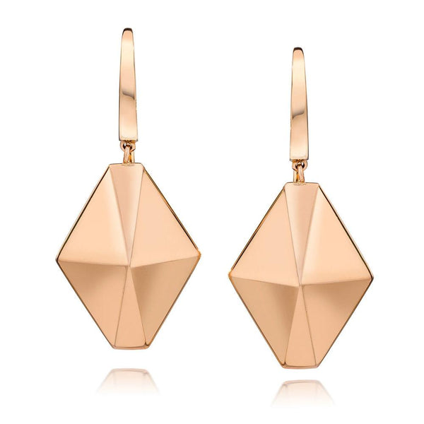 Origami Drop Earrings