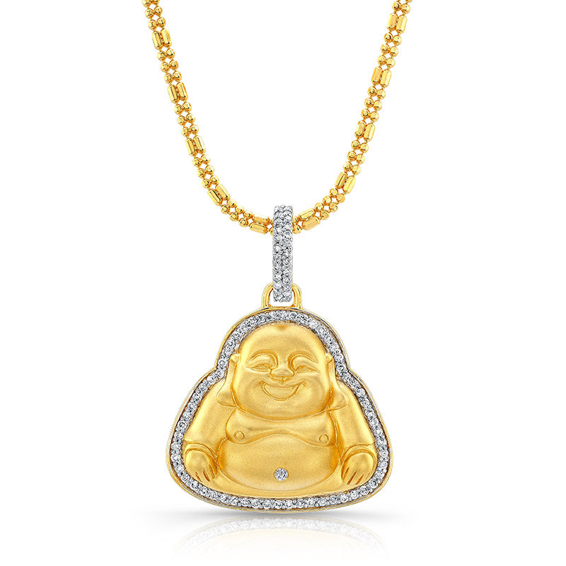 Buddha - Medium Matte Pendant