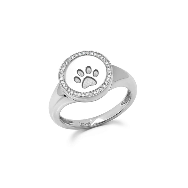 Dog Paw Small Ring