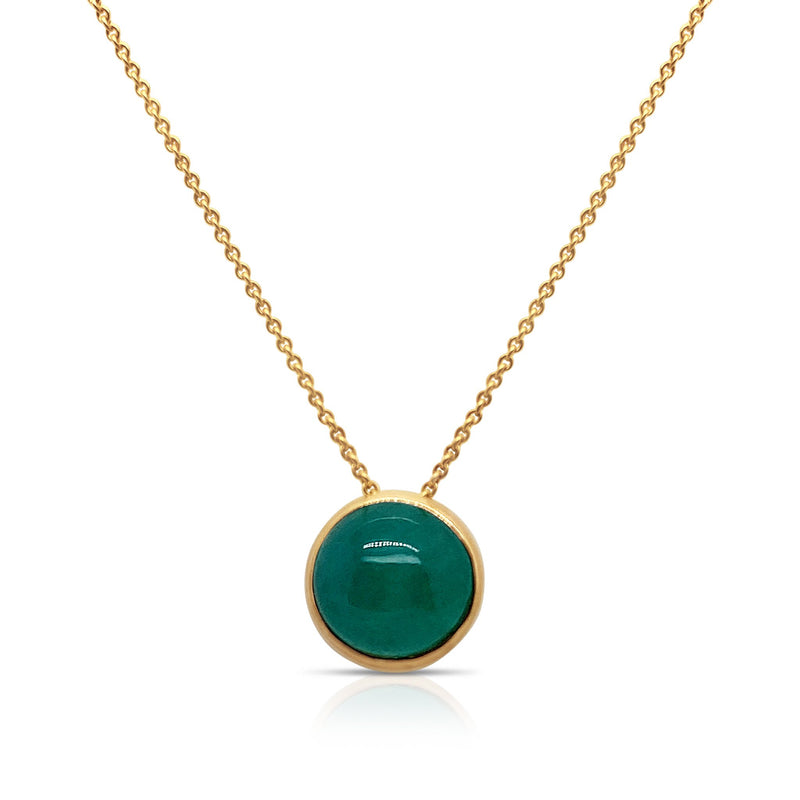 Birthstone Pendant In 18K Yellow Gold