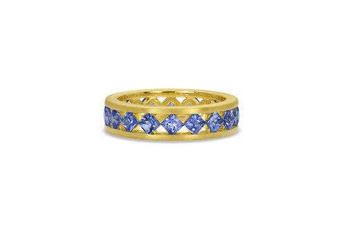 Ameerah Ring - Signature Sapphire Eternity