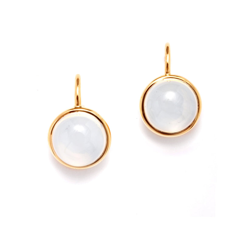 Moon Quartz Baubles Earrings