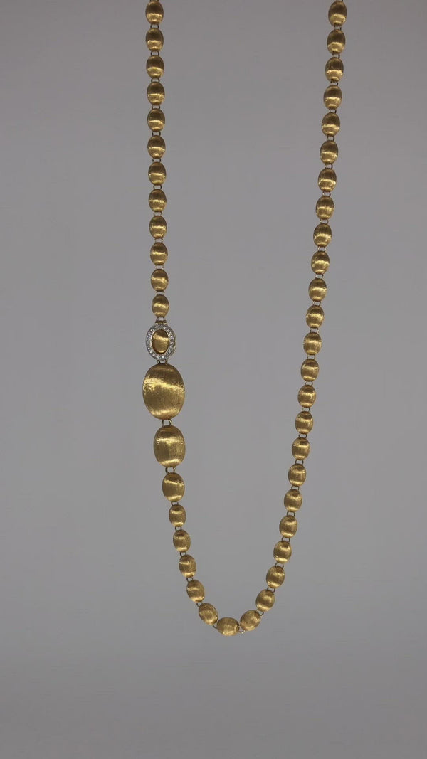 Dancing Elite Gold Necklace