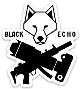 Black Echo Clan Stickers