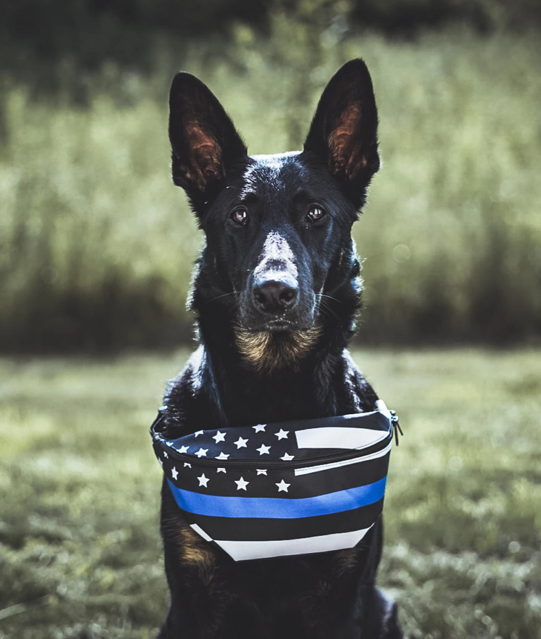 Thin Blue Line Flag Fanny Pack