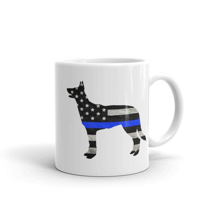 Good Dog Mug - Thin Blue Line edition