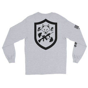 BEC Fitness Badge Back Long Sleeve T-Shirt