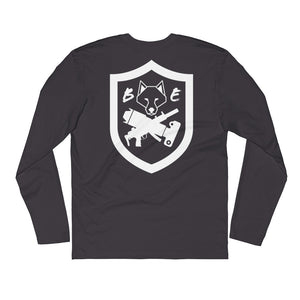 Fitted - Fitness Division Badge Back Long Sleeve Shirt